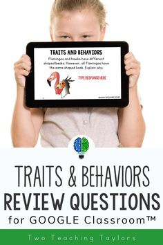 These versatile, no print task card activities for inherited traits and learned behaviors are designed to be used with Google Drive™. Includes 24 questions that work great for centers, homework, and assessment. A great alternative to worksheets. Has questions for acquired and inherited traits, innate and learned behaviors in plants and animals for 4th grade and 5th grade students. Perfect for distance learning and home school curriculum. Use after teaching the concept of traits and… Teaching 5th Grade, 5th Grade Science, Science Student, Elementary Science, Elementary Teacher, Elementary Schools, 5th Grade Worksheets, 5th Grades, Science Activities