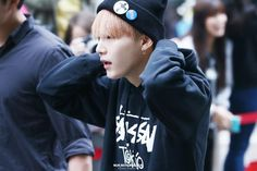 150515 BTS on their way to Music Bank