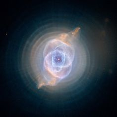 the Cat's Eye #Nebula (NGC 6543) is a sight that draws in the human eye.