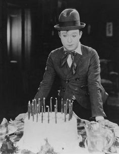 "theloudestvoice:  Harry Langdon (June 15, 1884 - December 22, 1944),  c. 1927 ""The oddest thing about this whole funny-business is that the public really wants to laugh, but it's the hardest thing to make them do it."""