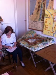 Sophia Cavalletti's City of Jerusalem and the Empty Tomb works in Francesca And Patrizia Cocchini's home in Rome.