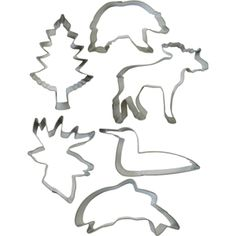 Northwoods Forest Cookie Cutters
