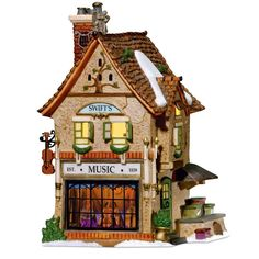 Amazon.com - Department 56 Dickens Village Swifts Stringed Instruments - Holiday Collectible Buildings