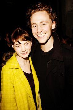 Tom Hiddleston and Carey Mulligan in 2008.