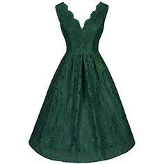 Ssyiz Women's 1920's Style Lace V-neck Casual A-Line Dres... http://www.amazon.com/dp/B01DBJYH3W/ref=cm_sw_r_pi_dp_ed8qxb0QSDFVV