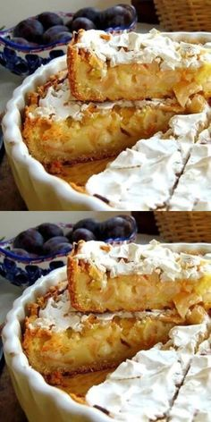 All Time Easy Cake : Amazingly delicious apple pie that just melts in your mouth. You will definitely like it! Apple Cake Recipes, Baking Recipes, No Bake Desserts, Dessert Recipes, Good Food, Yummy Food, Russian Recipes, Holiday Baking, Food Cakes