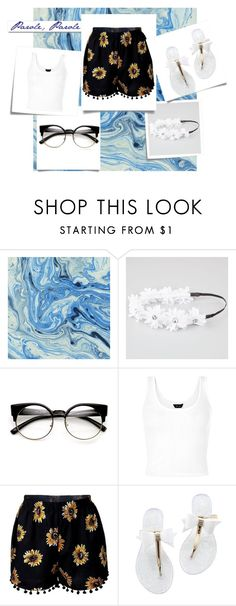 Untitled #447 by sparkle-4 on Polyvore featuring Full Tilt, White Label and Post-It