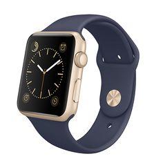 Apple Watch - Navy/Gold - Nicky