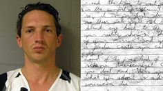 Serial killer Israel Keyes' blood smeared suicide letter. Confessed to being a serial killer, rapist, arsonist, burglar, and bank robber. The earliest crime to which Keyes admitted was the violent sexual assault of a teenage girl in Oregon, sometime between 1996 and 1998. He was captured and being held in custody, awaiting trial for the murder of Samantha Koenig, when he committed suicide in prison on 2 December 2010.