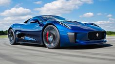 Jaguar C-X75 on Top Gear