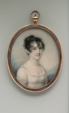 Portrait ca. 1806 - Mrs. Robert Macomb (Mary Cornell Pell )  Edward Greene Malbone  (1777–1807) - in the Metropolitan Museum of Art