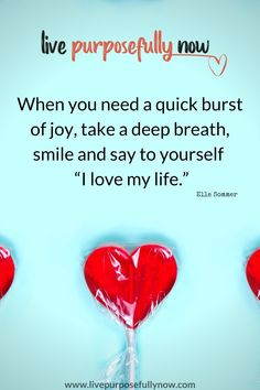 Quotes on self love and happiness - when you need a quick burst of joy, take a deep breath, smile and remind yourself of your self love. Mindset exercises to help you stay positive and find happiness. Self Love Quotes, Happy Quotes, Live With Purpose, I Love You, My Love, Take A Deep Breath, Transform Your Life, Staying Positive, Love Of My Life