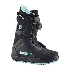 Burton Womens 131891 Progression Boa Boot Black  4 -- Click on the image for additional details.