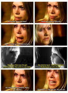 That was one of the greatest scenes in Doctor Who Doctor Who Meme, Bbc Doctor Who, Doctor Who Quotes, Eleventh Doctor, Rose And The Doctor, Rory Williams, Don't Blink, Rose Tyler, Torchwood