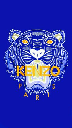 Kenzo wallpaper tiger