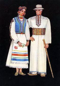 Регіональні відмінності в загальному національному стилі українського одягу