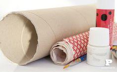 OS MELHORES ARTESANATOS: Saiba fazer  prateleira com rolos de papel