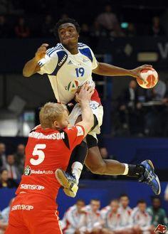 Mijn idool: Luc Abalo.  Franse handballer