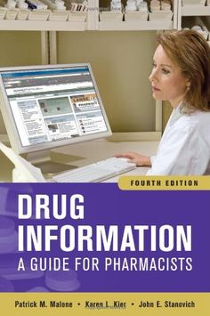 Drug Information: A Guide for Pharmacists, Fourth « Library User Group