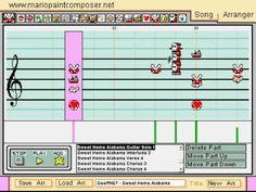 Sweet Home Alabama in Mario Paint Composer
