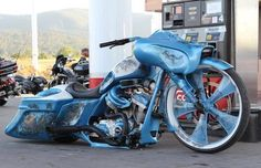 Scott Capalbo of Cylent Cycles specializes in custom Harley baggers at his shop in Mesa, Arizona, where he makes wild customs with one-off bagger parts. Description from pinterest.com. I searched for this on bing.com/images