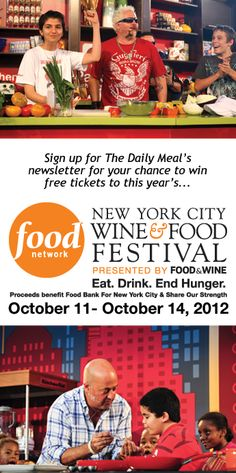 Win Tickets to the 2012 New York City Wine & Food Festival (Click-through for details!)