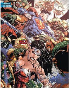 Superman and Wonder Woman by Doug Mahnke