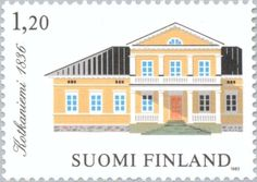 Old Toys, Postage Stamps, Old Things, 1970s, Mansions, House Styles, Collection, Home Decor, Finland