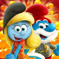 Smurf Village, Disney Frozen, Cartoons, Fictional Characters, Vintage, Music Wall, Movie, The Smurfs, Messages