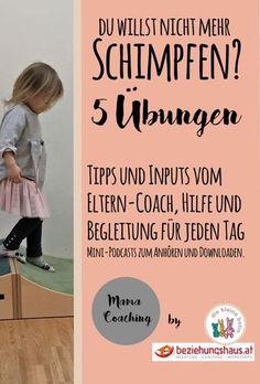 Es ist nicht einfach - aber es tut gut: Den Alltag kann man ohne schimpfen meistern und macht damit nicht nur den Kindern das Leben leichter. Erziehungs-Tipps und Inputs vom Elterncoach. Mama-Coaching empfohlen von Jesper JUUL.