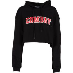 Msgm Combat Hoodie Sweatshirt ($150) ❤ liked on Polyvore featuring tops, hoodies, sweatshirts, black, hoodie top, hooded sweatshirt, sweatshirt hoodies, msgm and hooded pullover sweatshirt