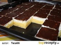 Krémeš recept - TopRecepty.cz Sweet Desserts, Sweet Recipes, Russian Recipes, Beautiful Cakes, Macarons, Nutella, Tiramisu, Cheesecake, Food And Drink