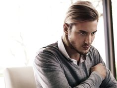 präsentiert von www.my-hair-and-me.de #men #hair #haare #brown #braun #long #lang #grey #grau