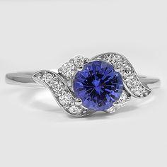 SAPPHIRE POLARIS DIAMOND RING