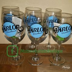 Parlor Downtown wine glasses
