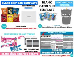 7 Templates Included Shopping Bag Template Bundle