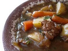 Irish Lamb Stew - I LOVED this stew and will make it again and again this fall and winter. The best part: the lamb is braised in Guinness beer on the stove top for about two hours. I used a pound of organic, free range Icelandic lamb from Whole Foods.