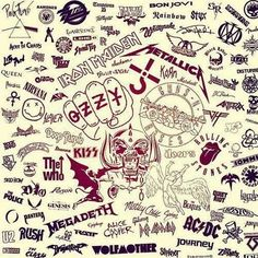 So...many...bands....so beautiful...*faints*