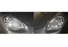If your car's headlights are clouded over, would you prefer?  Headlights restoration OR Headlights replacement