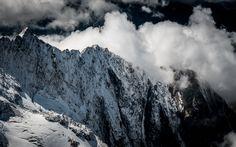 Arête de Tricot Winter Mountain, Mountain Landscape, Mount Everest, Mountains, Nature, Travel, Stud Earrings, Tricot, Naturaleza