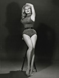 Betty Brosmer   ... Cries & Champagne.   hollyhocksandtulips: Betty Brosmer, 1950's