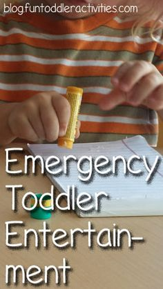 Simple Fun for Kids: Emergency Toddler Entertainment