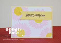 Doodlebugs: Splendid Sunflower Cards