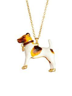 Entre chiens necklace