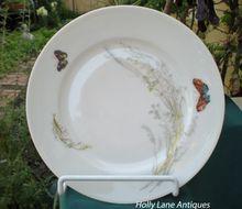 Half Price Haviland Sale - Antique Haviland Limoges Plate Meadow Visitors