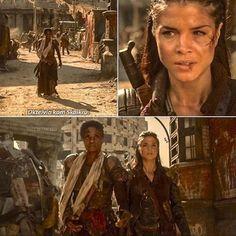 """#The100 3x07 """"Thirteen"""" - Indra and Octavia"""