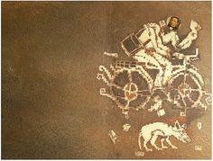 La Jornada / Francisco Toledo, Benito Juárez con bicicleta (2005)