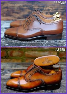 Be Unique with a Patina by Dandy Shoe Care! Alexander Nurulaeff in exclusive for Stefano Bemer.