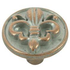 Fleur de Lis Cabinet knobs | Home Decor | Pinterest | Cabinet ...