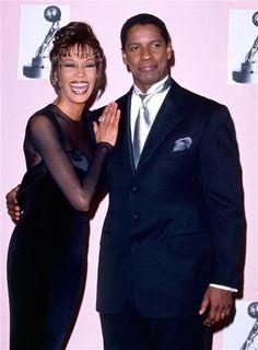 Whitney Houston & Denzel Washington
